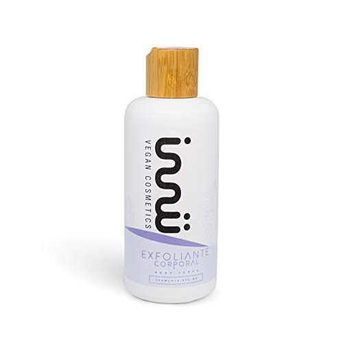 Innu Vegan - Exfoliante corporal - 250ml - Exfoliante facial - Elimina...