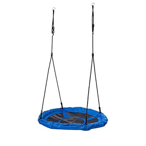 Swing Kids Oscilación De Cuerda De Disco Oscilante De Árbol De Plástico Resistente Con Protector De Pierna Agregado For Reemplazar El Equipo De Juego Al Aire Libre For Garantizar Horas De Diversión Y