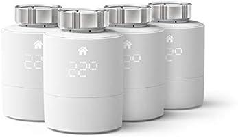 tado° Slimme Radiatorknop - Quattro Pack Additioneel voor aansturing per kamer, intelligente verwarmingsaansturing,...
