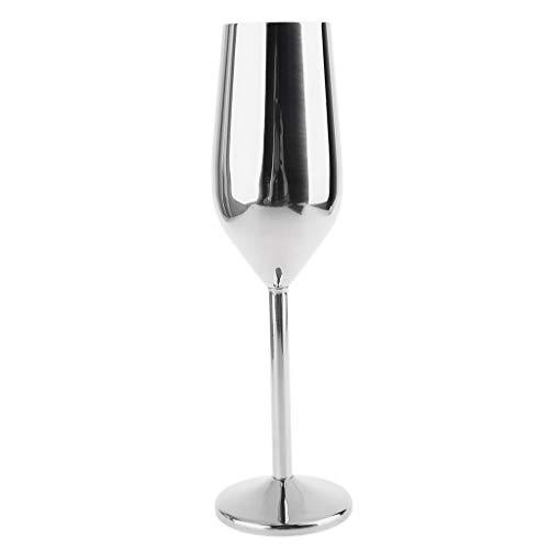 lijun Copa de Vino de Acero Inoxidable Copas Copa de champán Copas de cóctel Copa de Whisky
