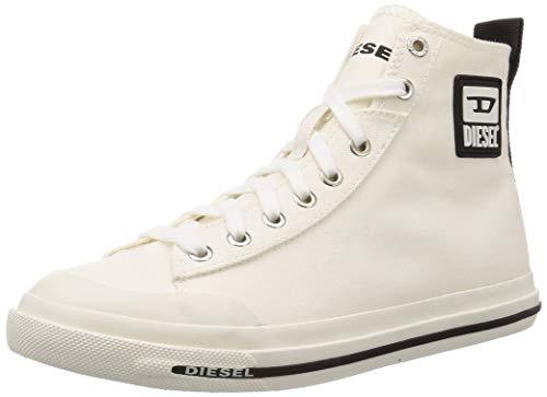 Diesel Herren S-astico Mid Cut Sneaker, Weiß (White), 40 EU