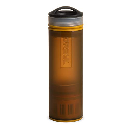 COMPACT: 16 oz. purifier bottle makes safe, clean drinking water from virtually any freshwater source FAST AND EASY-TO-USE - Ideal for international travelers, hikers, and emergency prep kits REMOVES WATERBORNE PATHOGENS (e.g. Hepatitis A, Norovirus,...