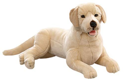 Carl Dick Peluche - Perro Labrador Retriever acostado (Felpa