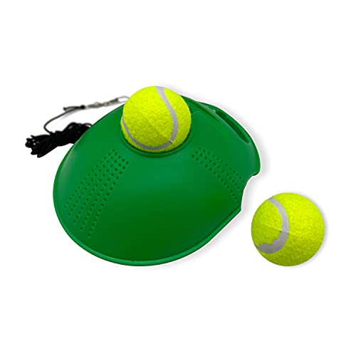Alephnull Alephnull Tennistrainer met Stuiterballen Tennistrainer met Elastisch Koord voor Kinderen en Beginners