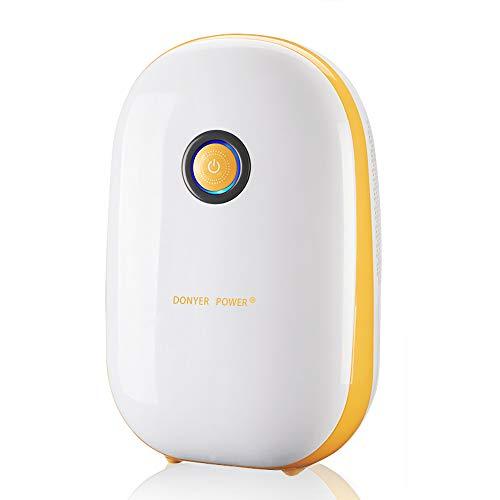 DONYER POWER Indoor Dehumidifier 1.1L for Kitchen, Bedroom, Office, Garage