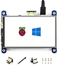 4 inch HDMI LCD IPS Display 800x480 Resolution Resistive Touch Screen HDMI Interface for Raspberry Pi 3 B/3 B+/2 B/B+/B Zero W