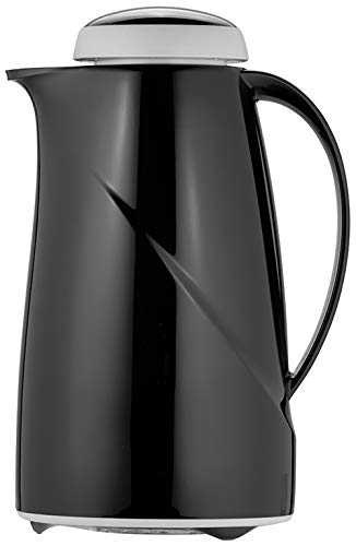 Helios Wave Isolierkanne, Kunststoff, schwarz, 1 Liter