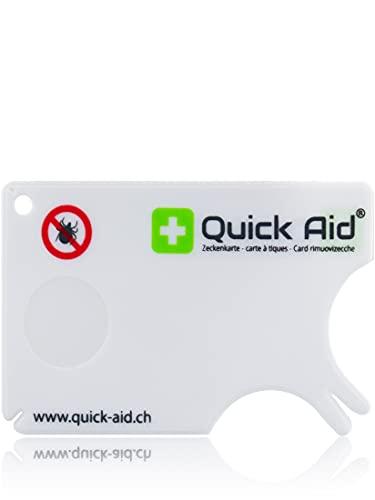 Quick Aid® Zeckenkarte - Die sicherste Methode Zecken zu entfernen