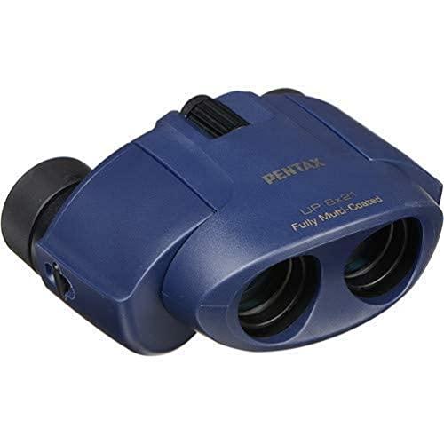 Pentax UP 8X 21Azul Marino prismáticos (Azul Marino)