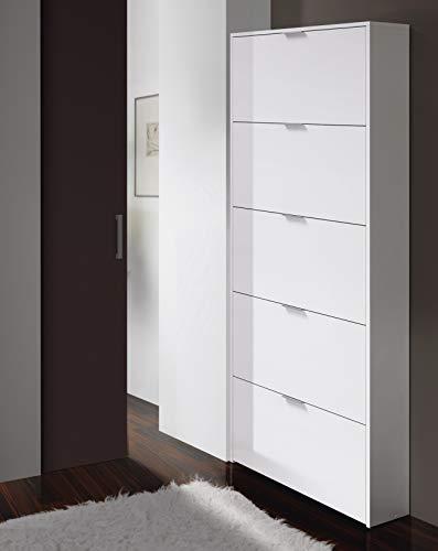 Esidra Scarpiera a 3 Ante, 18 Paia di Scarpe, 70 x 180 x 17 cm