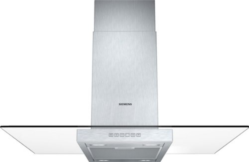 Siemens LF97GA532 iQ300 Inselhaube / 90 cm / Wahlweise Abluft- oder Umluftbetrieb / Metall-Fettfilter, spülmaschinengeeignet / edelstahl