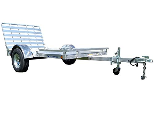 Silverwing SW9F 5'x9' Aluminum Utility Trailer-205/75R14 Radial...