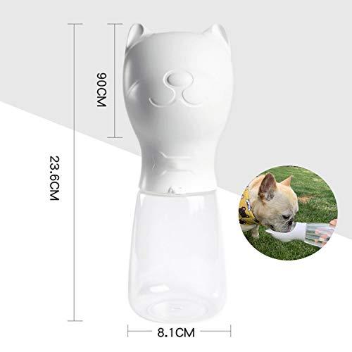 Bospyaf Ketelbeker voor huisdieren, buiten reizen, brede wastafel, gemakkelijk te dragen, veilig, lekvrij