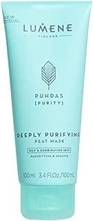 Lumene Puhdas Purity Deeply Purifying Peat Mask, 3.4 Fluid Ounce