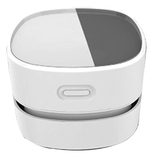 aolongwl Robot aspirador portátil de limpieza automática de escritorio Partes de aspirador de escritorio Mini escritorio de carga Partes de aspirador