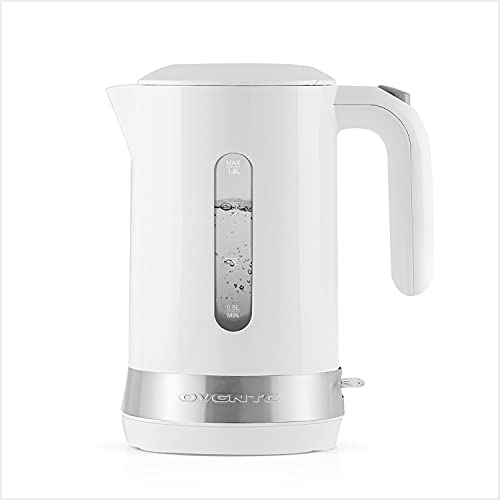 Ovente Electric Hot Water Kettle 1.8 Liter with Prontofill Lid 1500...