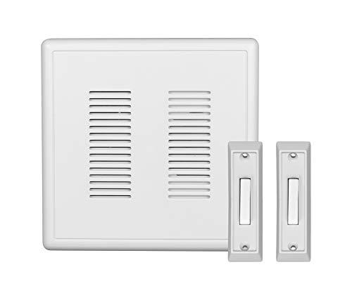 NICOR Lighting PRCP2 PrimeChime Plus Door Chime Kit, Standard Buttons