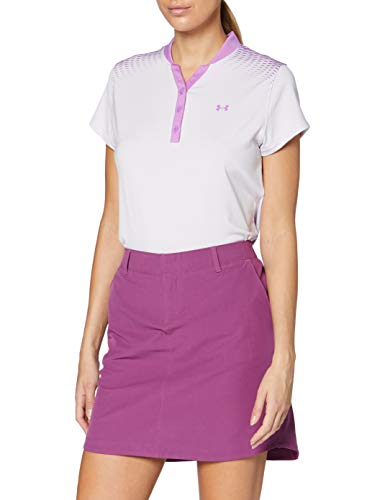 Under Armour Polo Zinger Graphic à Manches Courtes Polo Femme Crystal Lilac/Exotic Bloom/ (570) FR:...