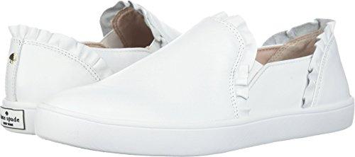 Kate Spade New York Women's Lilly Sneaker, White, 9 M US