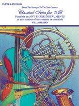 Classical Trios for All - Flute/Piccolo