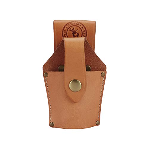 Tourbon Leather Tool Holder Hammer Holster with Security Strap