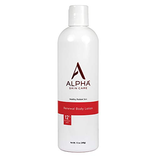 Alpha Skin Care 735379152318 Revitalisieren Körper Lotion mit 12% Glycolic AHA, 12Oz