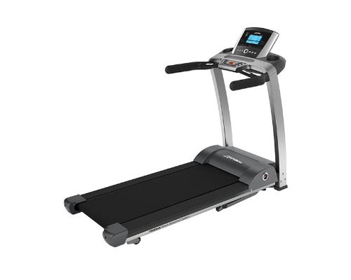 Life Fitness Laufband F3 Go - Cinta de Correr para Fitness (Studio, pulsómetro de Banda Pectoral, 3 PS, 120 kg), Color Negro