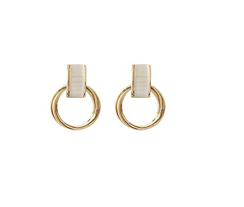 Santwo - Anello da donna vintage e placcato Argento, colore: S1-oro, cod. S1-Gold UK