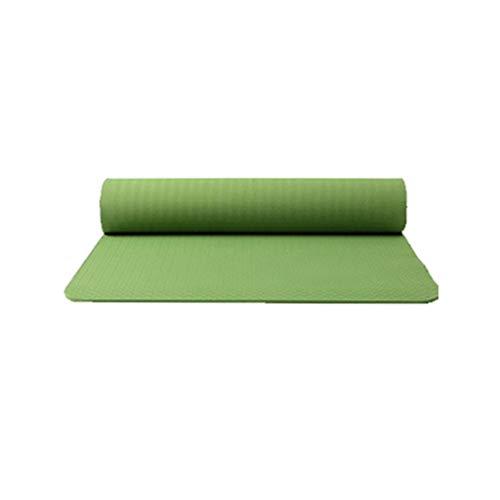 Review Classic Yoga Mat - TPE Non Slip Fitness Exercise Mat Workout Mat for Yoga 0.5CM Thick High De...