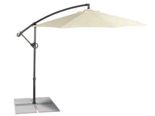 FLORABEST® Ampelschirm in Beige ca. Ø 300 x H 258 cm