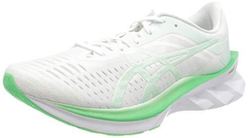Asics 1012a661-100_37, Zapatos para Correr Mujer, Blanc Vert Menthe, EU