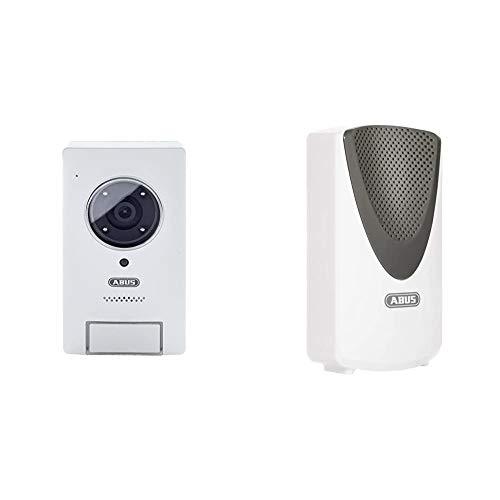 ABUS Video Türsprechanlage PPIC35520 für den Außenbereich | Infrarot-Nachtsicht | Push-Benachrichtigung | einfache...