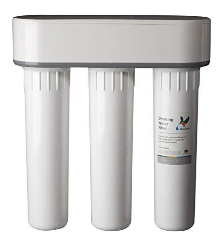 Doulton Trio, 3 stufiger Untertisch Wasserfilter, filtert Kalk, Nitrat, Chemikalien, Schwermetalle, Bakterien