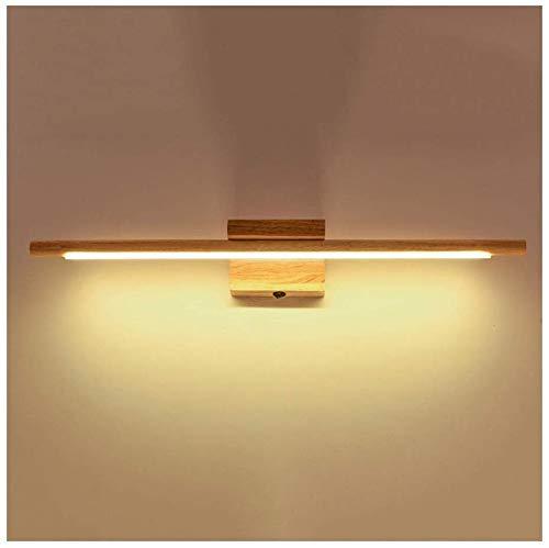 Shuai Beautiful Lamp * Make-uplamp LED Spiegellicht van de Sovjet-Unie wandlamp wordt met schakelaar bad lamp massief hout (kleur: warm)