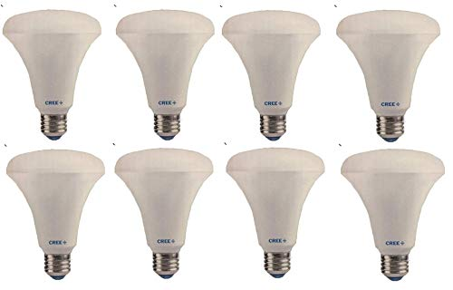 Cree, 65w Equivalent, 8.8w. Soft White, LED, Dimmable, BR30 Indoor Flood Bulb, 8 Pack