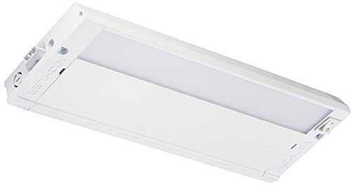 Kichler 4U27K12WHT 4U Series Under Cabinet, 1 Light LED 6 Watts, Textured White
