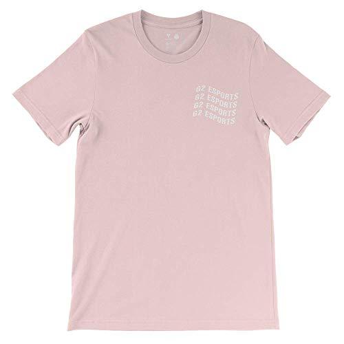 G2 Esports Unisex G2 gewelltes T-Shirt, Größe M, Rosa