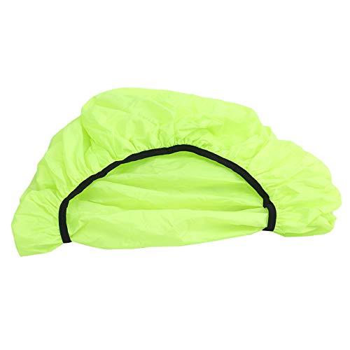 unknow Liangwan - Bolsa de asiento trasero para bicicleta, resistente al agua y al desgarro, con múltiples bolsillos y correas ajustables, cubierta para la lluvia