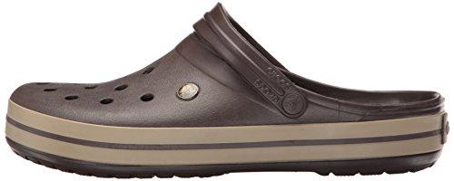 Crocs Unisex-Erwachsene Crocband Clogs, Braun - 13