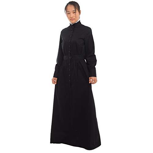 GRACEART Pionero Mujer Disfraz Pradera Vestir (Large, Thickiy ronior)