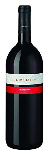 6x 1,0l - 2018er - Farnese Vini - Larinum - Primitivo - Puglia I.G.P. - Apulien - Italien - Rotwein trocken