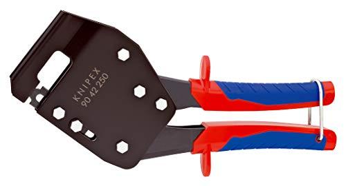 KNIPEX 90 42 250 Profil-Verbundzange brüniert mit Mehrkomponenten-Hüllen 250 mm