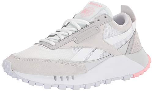 Reebok Women's Classic Legacy Sneaker, White/True Grey/Pure Grey 10.5 medium US