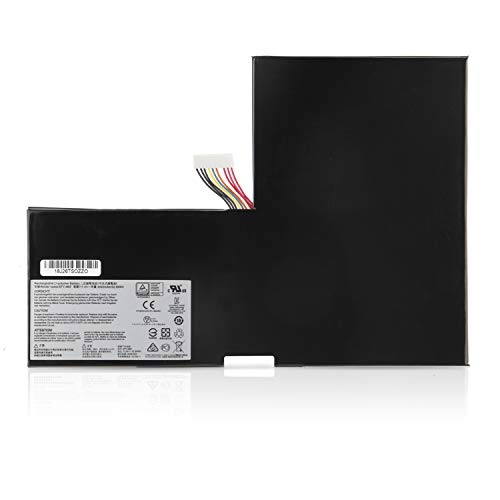 ANTIEE BTY-M6F Laptop Batería para MSI GS60 2QC 2QD 2QE 6QC 6QE 2PE-060UK 2PL-011UK PX60 2QD 6QD 6QE Ghost Pro WS60 2OJ 6QJ 6QI MS-16H3 MS-16H4 MS-16H6 52.89WH 6Cell