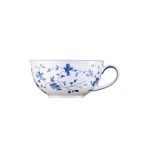 Arzberg Form 1382 Teetasse, Obertasse, Tee Tasse, Porzellantasse, Blaublüten, Porzellan, 130 ml, 41382-607671-14639