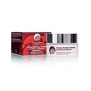 Crema Despigmentante Antimanchas Facial - Blanqueadora Eficaz en Manchas Oscuras por Sobreproducción de Melanina. Con Protector Solar UVA-UVB y Acido Hialuronico. Para Pieles Sensibles - 200ml