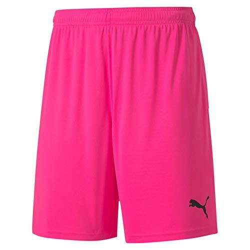 Puma Teamgoal 23 Knit Shorts, Pantaloncini Uomo, Rosa (Fluo Pink Black), L