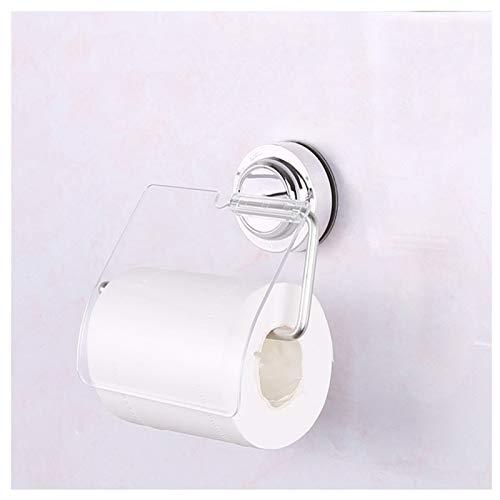 JYV Tipo de Ventosa Tipo de Toalla de Papel, Soporte de Toalla de Papel de Acero Inoxidable Tenedor de Papel higiénico Accesorios de baño Impermeables 155 * 70 cm