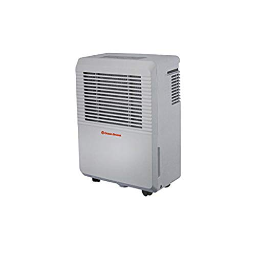 Ocean Breeze 60 Pint Two Speed Direct Drain Dehumidifier OBZ-60DHN (Renewed)