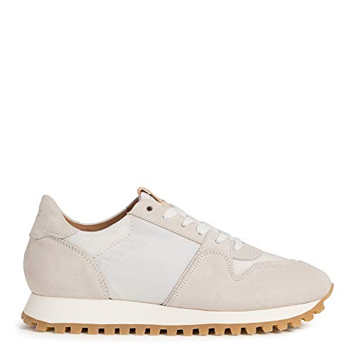 Closed Sneaker Pepper aus Velourleder 38 Weiß